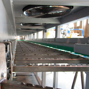 Cantilever cooling lines